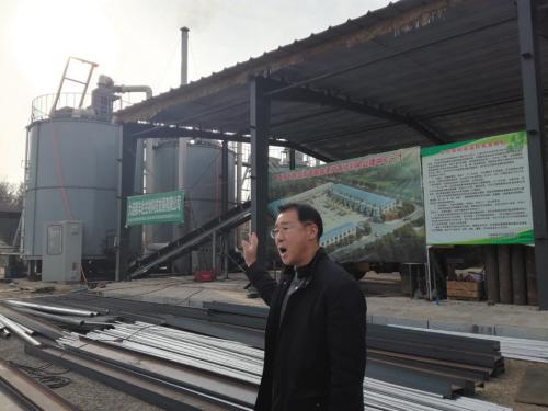 位于瓦房店市岗店街道的畜禽粪污资源化处理中心已经部分投产。