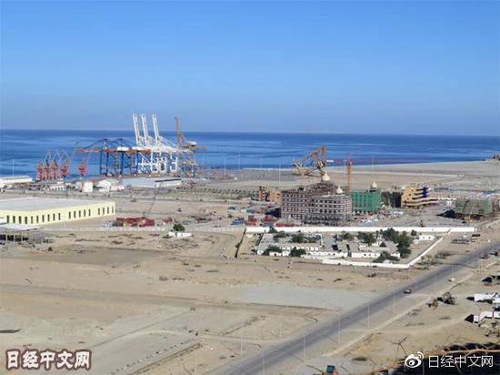 巴基斯坦西南部的瓜达尔港正建设写字楼和贸易相关设施