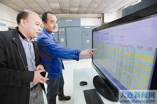 远程监测换热站和居民家中温度。