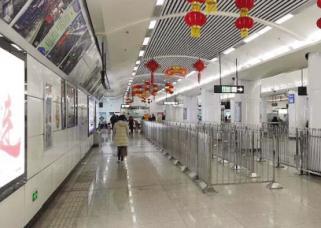 地铁车站出入口今天实行管制