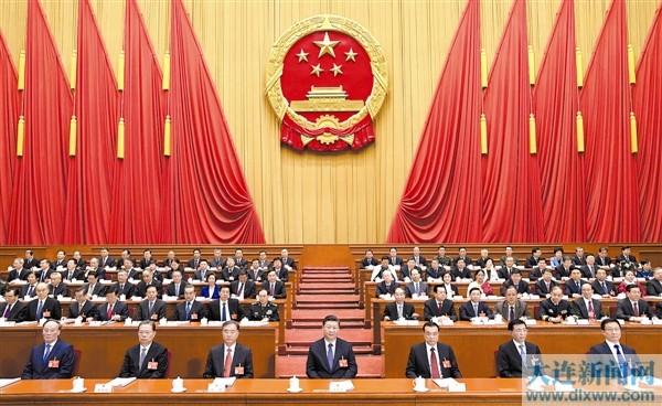 3月5日,第十三届全国人民代表大会第二次会议在北京人民大会堂开幕。党和国家领导人习近平、李克强、汪洋、王沪宁、赵乐际、韩正、王岐山等出席会议。新华社记者李学仁